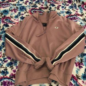 Abercrombie & Fitch Tops - half zip jacket